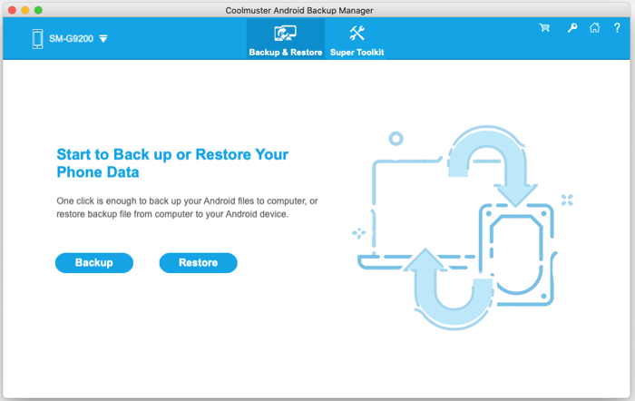 android backup and restore on mac