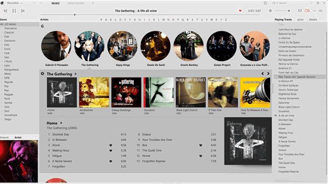 itunes alternative for windows - musicbee