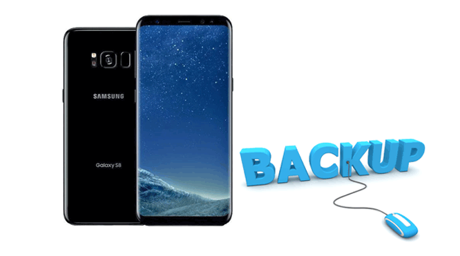 how to back up galaxy s8
