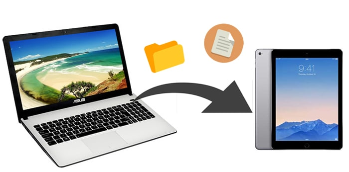 how to transfer files from pc to ipad without itunes