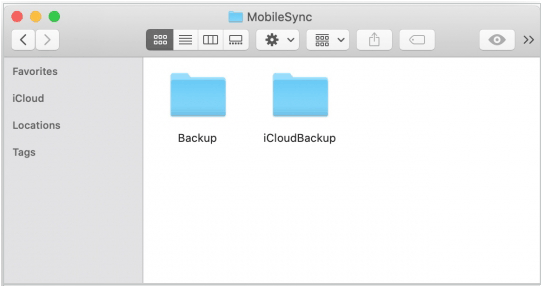 how to change itunes backup location on mac
