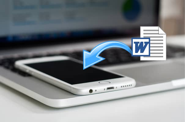 transfer word doc to iphone