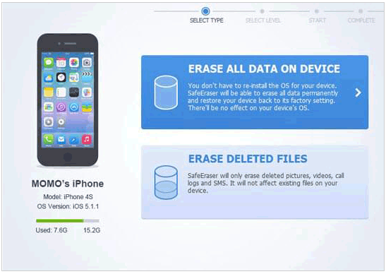 best iphone data eraser software - apowersoft iphone data clearner