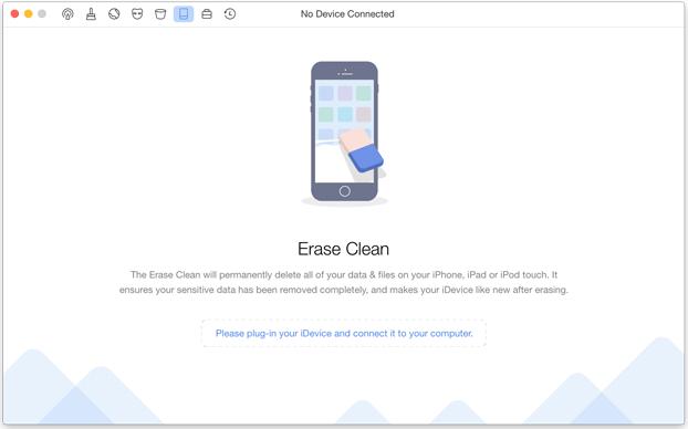 best iphone data eraser software - phone clean