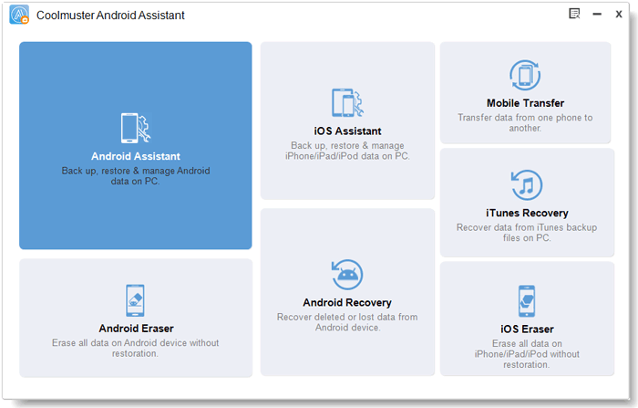 run android assistant on pc to transfer photos from android to pc windows 10