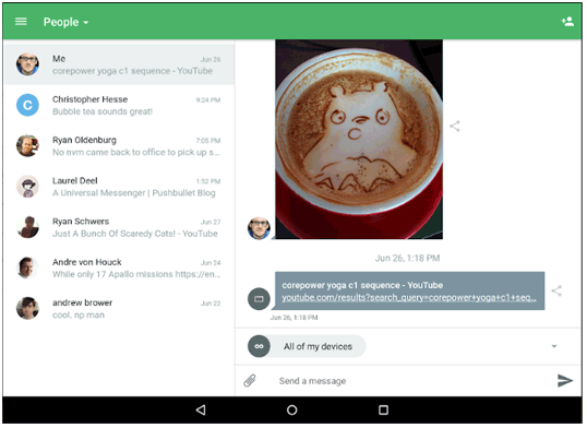 airdroid alternative - pushbullet