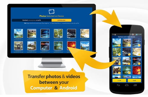 transfer photos from android to mac wirelessly via photo transfer app