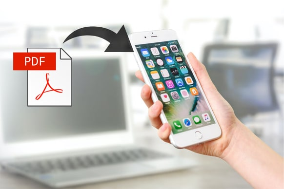 how to transfer pdf to iphone