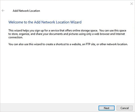add network location on pc to transfer data from xiaomi to samsung