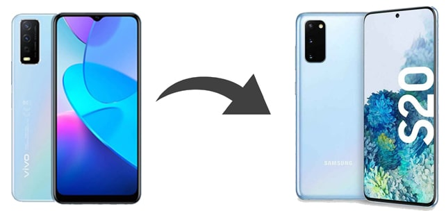 how to transfer data from vivo to samsung
