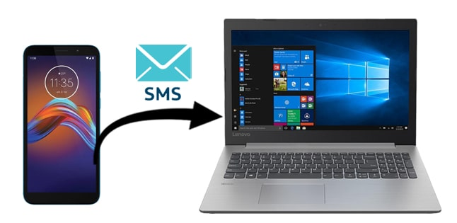 how to transfer text messages from motorola phone to computer