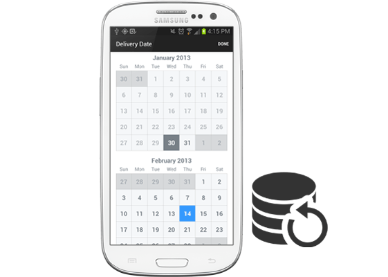 backup calendar android