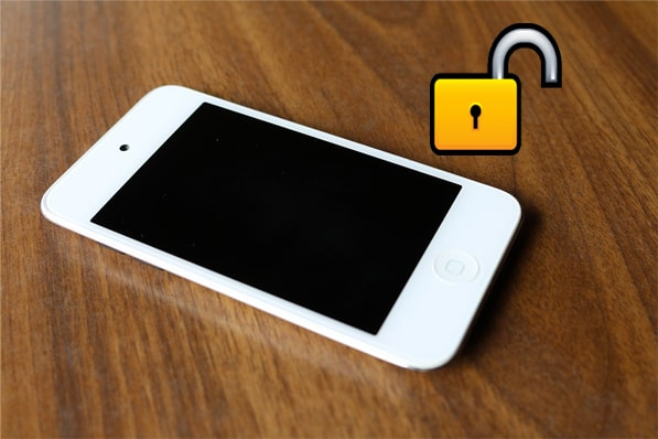 how to unlock ipod touch without password
