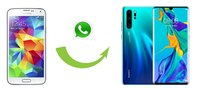 how to transfer whatsapp from samsung to huawei