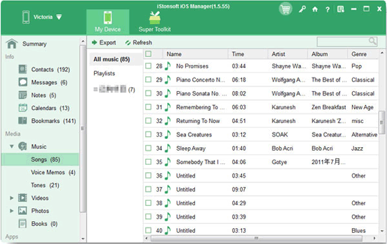 iphone transfer software - istonesoft