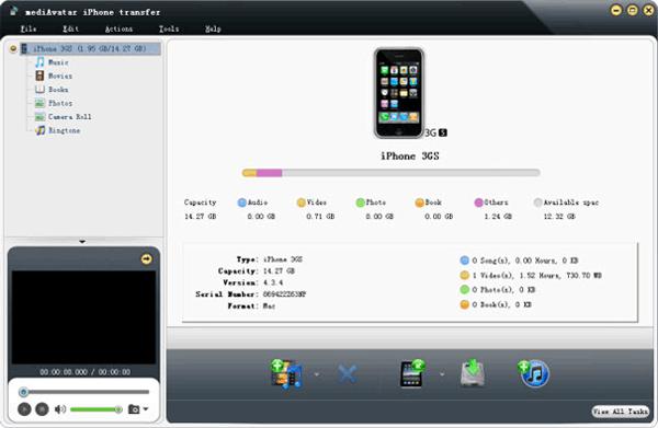iphone transfer software - mediavatar
