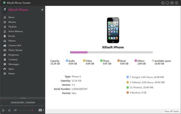 iphone transfer software - xilisoft