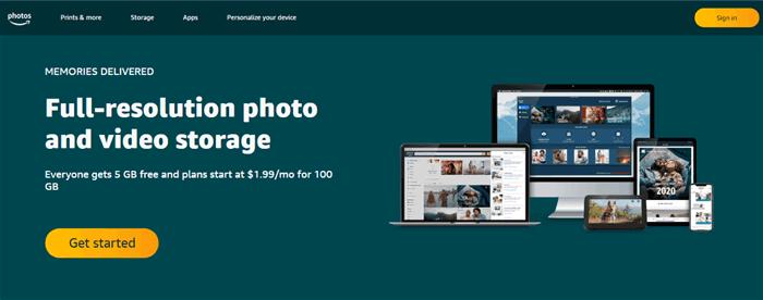 google photos alternative - amazon photos