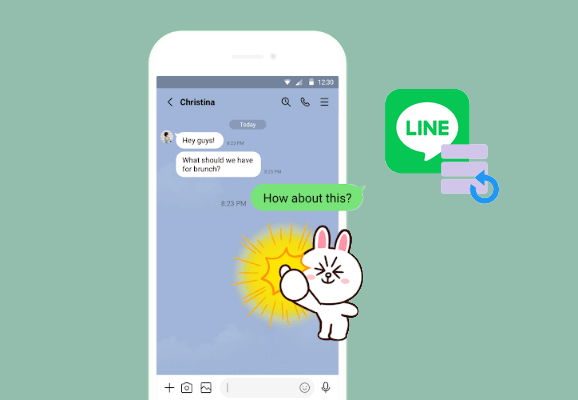 how to backup line chat