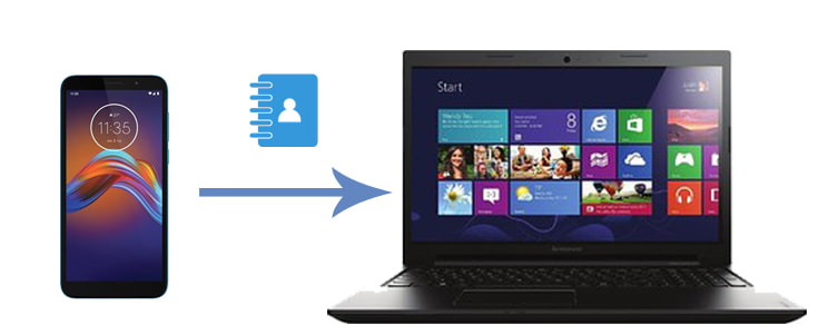transfer contacts from motorola phone to computer