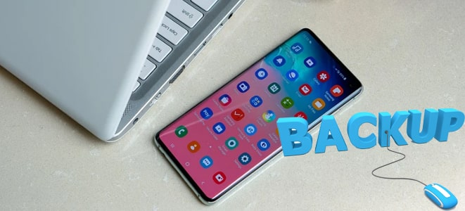 how to backup galaxy s10