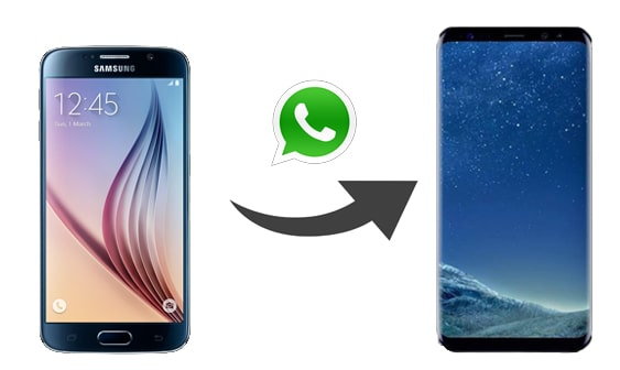 how to transfer whatsapp from old samsung to new samsung
