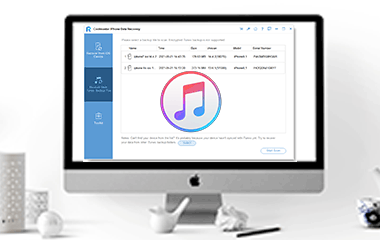 recover data from itunes backupk