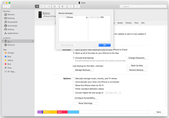 recover deleted text messages on iphone from itunes backup on mac
