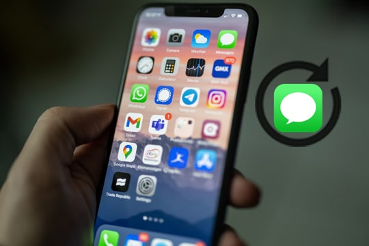 recover deleted text messages iphone without backup