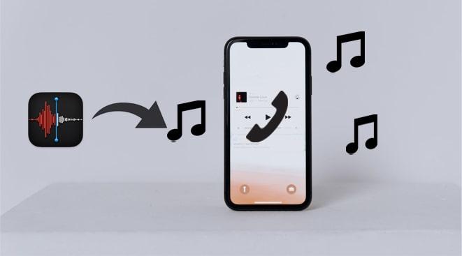 how to make a voice memo a ringtone