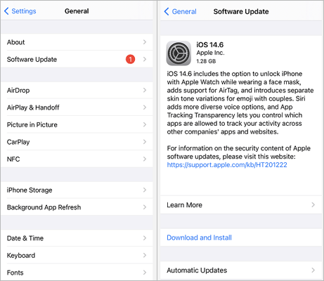 update iphone to fix iphone photos not showing up on mac