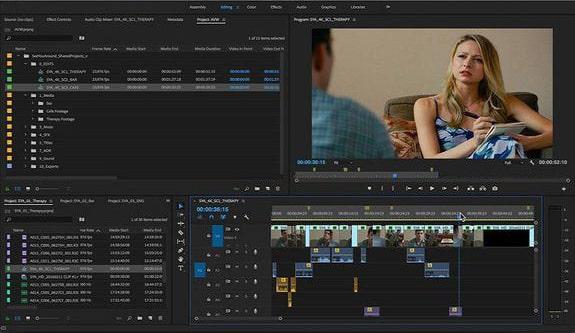 best vlog editing software - adobe premiere pro