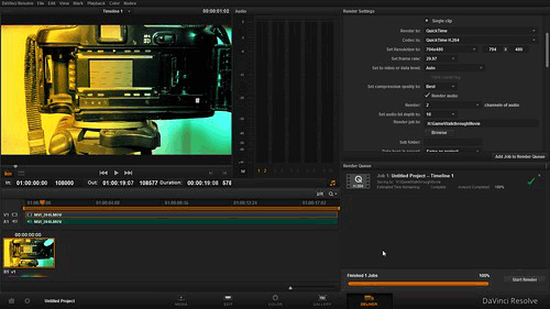best vlog editing software - davinci resolve
