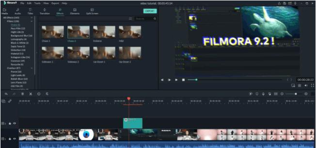 best vlog editing software - filmora9