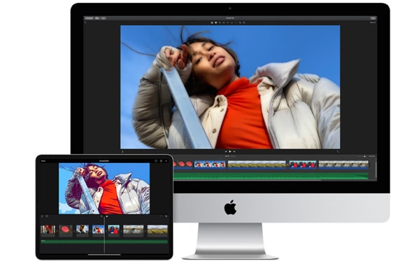 best vlog editing software - imovie