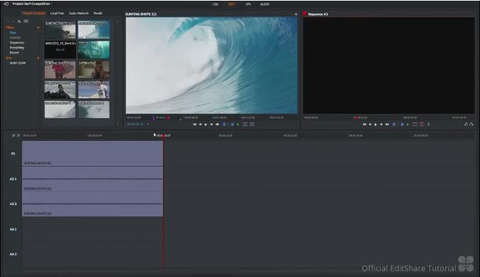best vlog editing software - lightworks