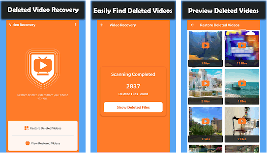 best video recovery app for android - deleted video recovery