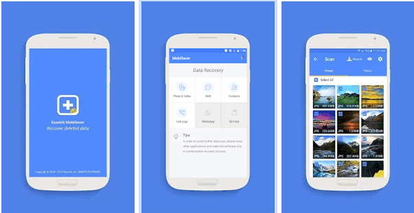 best video recovery app for android - easeus