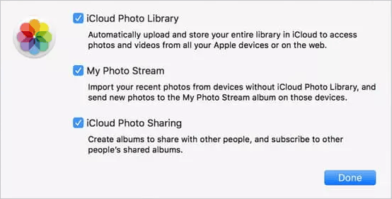 fix to icloud photos not showing up on mac