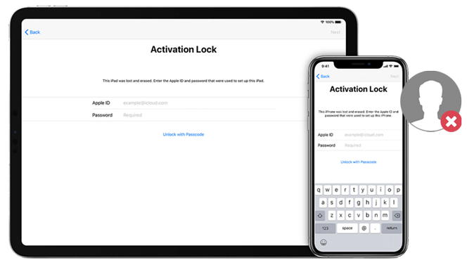 how to remove activation lock without previous owner