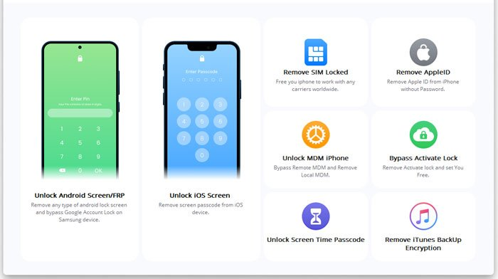 how to erase iphone without passcode with ios unlock: some prior operations