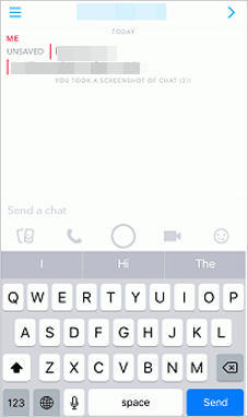 how to delete saved snapchat messages