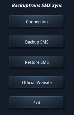 sms backup and restore for iphone - backuptrans