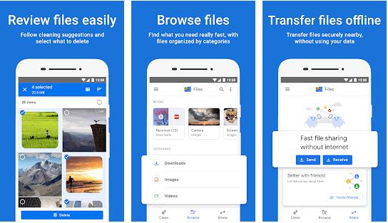 shareit alternative - file by google