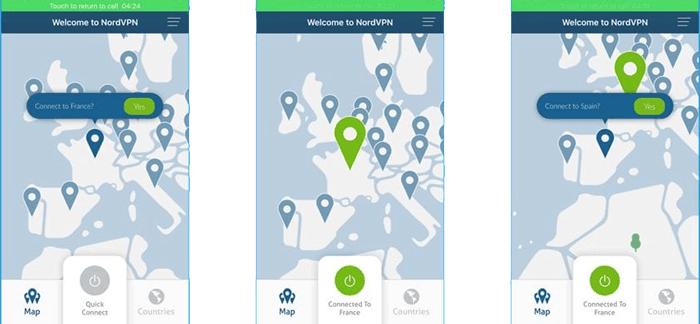 spoof location iphone via vpn app