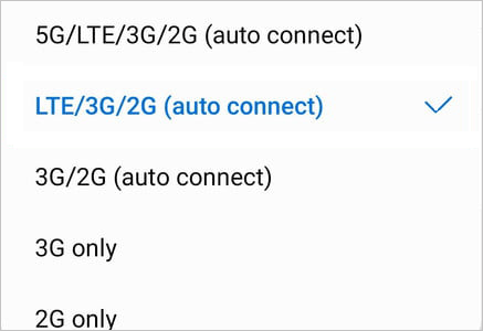 how do i know if my android phone is 5g