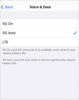 how to get 5g on iphone