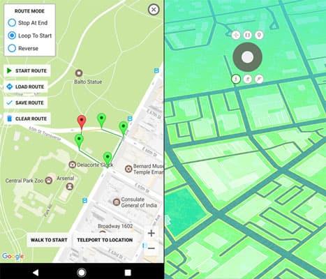 best spoofing app for pokemon go - gps joystick