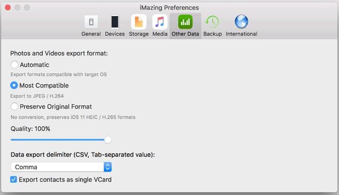 best heic to jpg converter - imazing