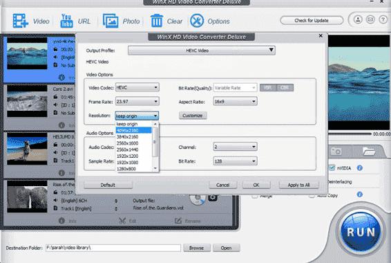 best video converter for windows - winx hd